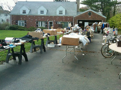 how to earn or save with a garage sale